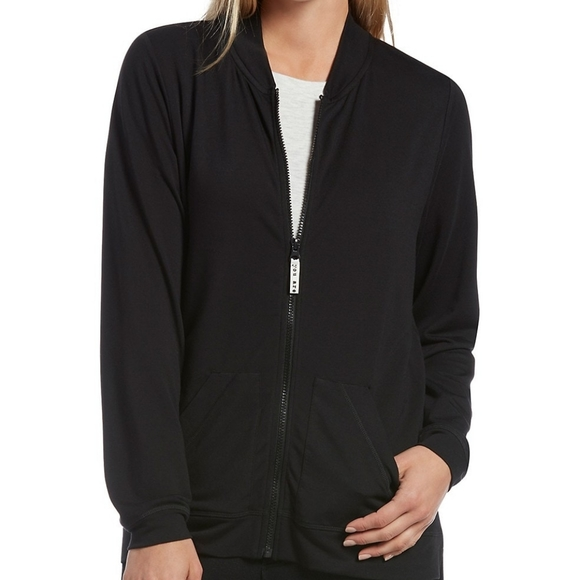 NWT Hue full zip lounge jacket size small